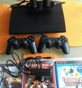 Sony PlayStation 3 super slim , 500gb