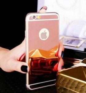 Новый зеркальный чехол на iPhone 5/5s