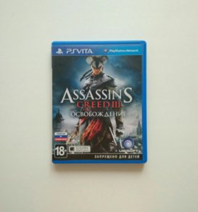 Игра Assassing'S creed III: Liberation. Для PsVita