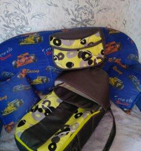 Сумка переноска + сумка для мамы