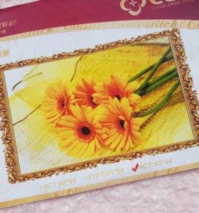 Набор для вышивания цветы