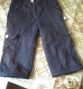 Детские тёплые штаны KANZ