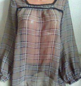 Блузка тонкая 44-46р.