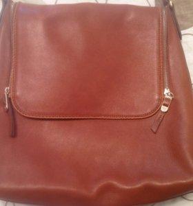 кожаная сумка Massimo Dutty