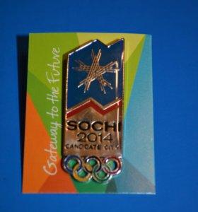 Олимпийские значки Сочи 2014