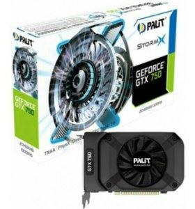 Видеокарта Palit GTX750 StormX 1gb