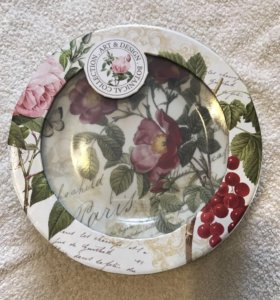 Набор тарелок 4 шт. Д 19 см (nuova R2S) Италия