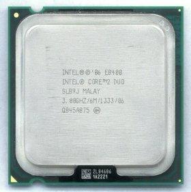 Intel Core 2 Duo E8400 (3000MHz, LGA775)