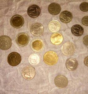 Колецкия советских монет( 1979-1991 гг)