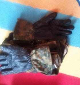 перчатки BW в расцветке flektarn