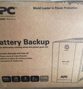 ИБП APC Back-UPS 500VA, AVR, IEC outlets BX500CI