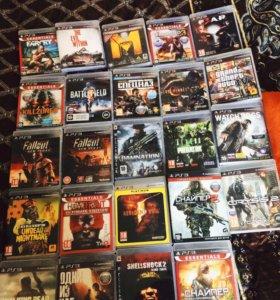 Много игр для Playstation 3