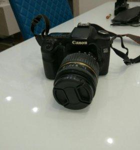 Фотоаппарат Canon 40D + объектив Tamron 18-250 мм.