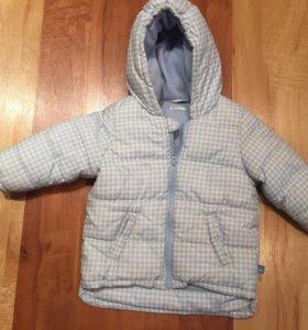 Куртка  бенетон состояние отличное