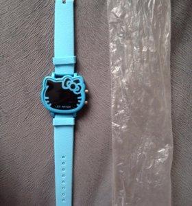 Новые часы хелоу Китти