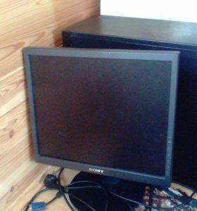 Системный блок + монитор