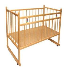 Кроватка с бортиком