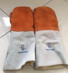 Рукавицы хлебопекарные Matfer