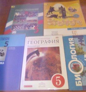 Учебники 5 класс, в очень хорошем состоянии.