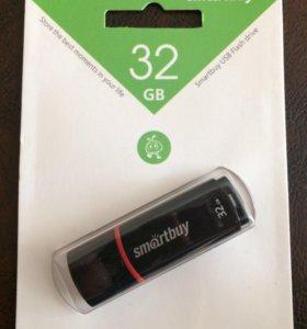 Флешка smarbuy на 32 GB