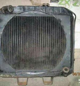 Радиатор га ГАЗ 69