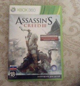assassins creed 3 диск для Xbox 360