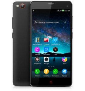 "ZTE Nubia Z7 Mini 4G(LTE) 5"" black 16gb 4 ядра"
