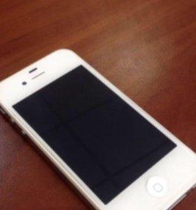 iPhone 4s беленький