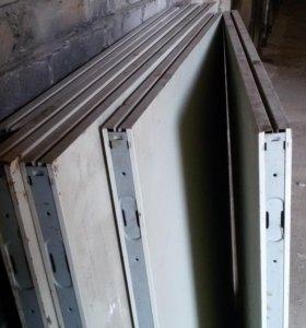Панели стеновые металлические окрашенные