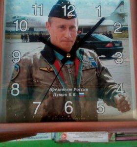 Часы с Путины в офис