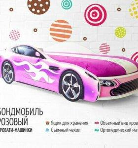 Кровать-машинка БОНДМОБИЛЬ