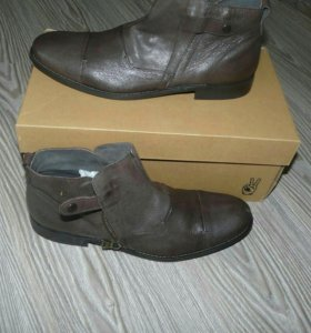 Новые ботинки натур кожа