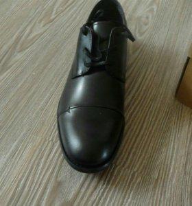 Новые Туфли муж натур кожа