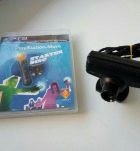 PS Eye и диск для PS3