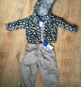 Комплект(куртка+брюки), весна/лето