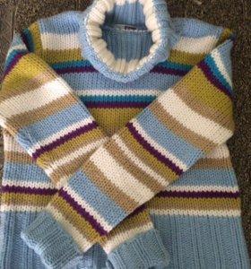 44-46р Шерстяной свитер теплый