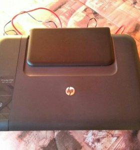 Принтер HP Deskjet 2050 цветной