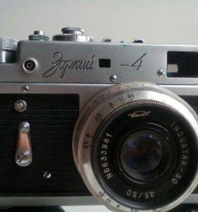 Фотоаппарат с принадлежностями