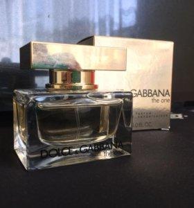 Парфюмерная вода Dolce Gabbana The one