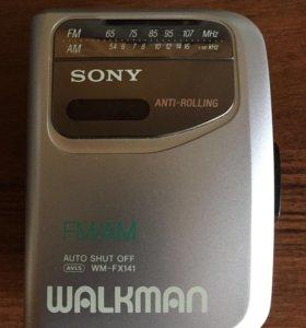 Кассетний плеер Sony Walkman wm-fx 141