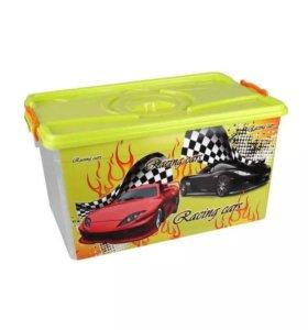 """Контейнер для игрушек """"Формула-2"""" новый"""