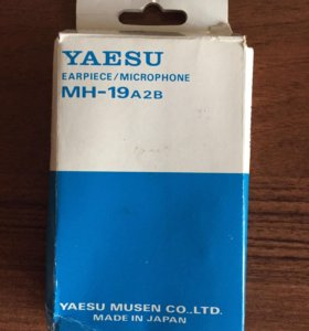 Наушники для радиостанции Yaesu MN-19a2b