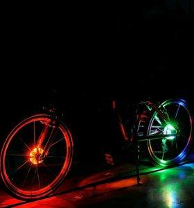 Барабан на колесо светодиодная подсветка