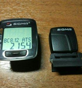 Велокомпьютер Sigma BC8.12ATS беспроводной