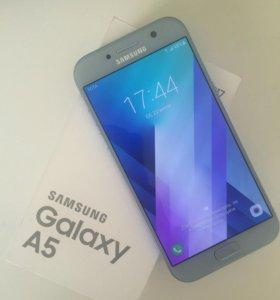 Samsung Galaxy A5 2017 (32 Гб, blue)
