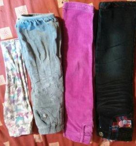 Пакет штанишек для модницы(можно отдельно)