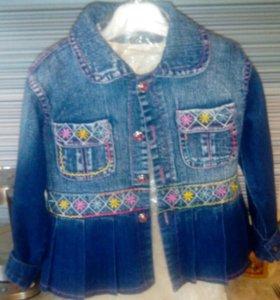 Куртка 4_6_7 лет