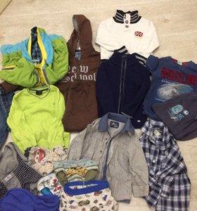 Одежда на мальчика 3 года пакетом