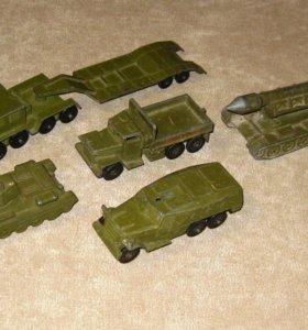 Набор моделей военной техники