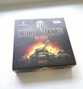 "Карточная игра ""World of tanks Rush"""